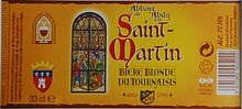 couverture biere Abbaye st martin