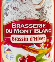 etiquette brassin d'hiver mont blanc