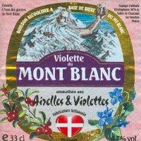 etiquette violette mont blanc