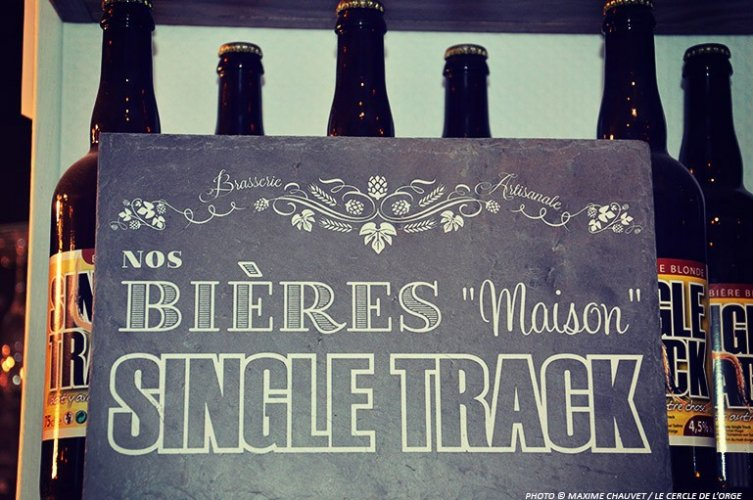 couverture Brasserie Single Track