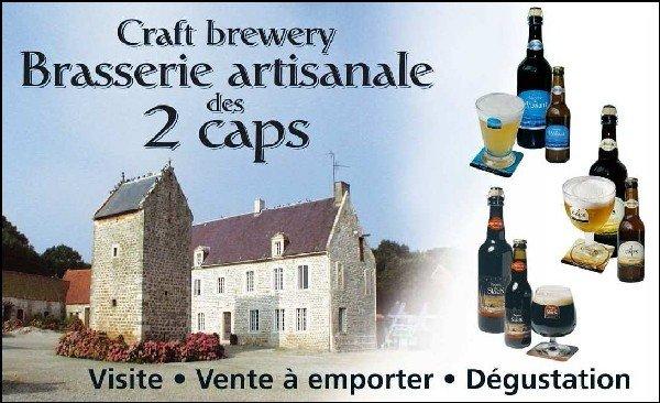 biere Brasserie des 2 caps