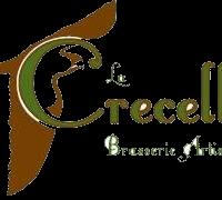 logo brasserie la crecelle