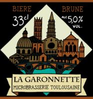 biere La Garonnette Brune