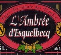 biere Ambrée d'Esquelbecq thiriez