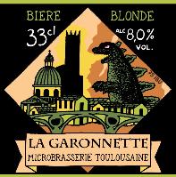 biere La garonnette Double IPA Blonde