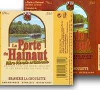 biere Les Porte du Hainaut Ambrée choulette