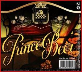 biere PRINCE'S BEER sedan
