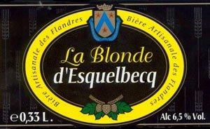 biere Blonde d'Esquelbecq Thiriez