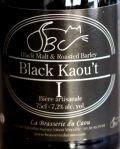 biere Black Kaou't du caou