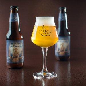 biere Blanche du paradis dieu du ciel