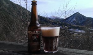 biere Auzetane brune