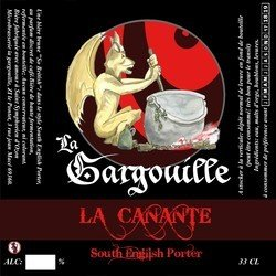 Bière Canante Brune gargouille