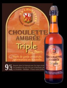 La Choulette Triple ambrée
