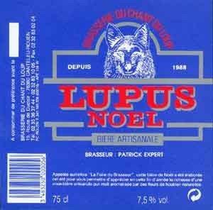 biere LUPUS DE NOEL