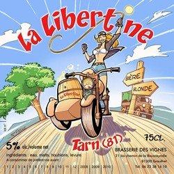 la libertine, brasserie des vignes