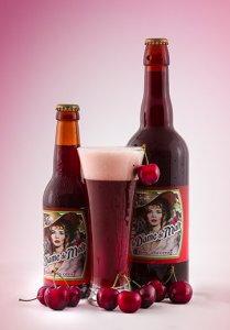 biere La dame de malt cerise