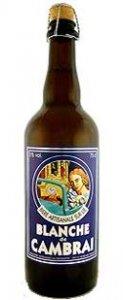 La bière Blanche de Cambrai choulette