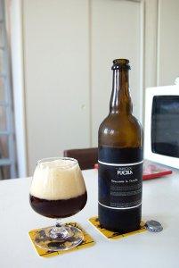 biere la Barricade Puebla (cascadian dark ale)
