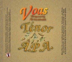 biere Ténor A.P.A Voas
