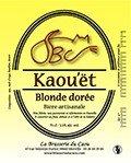 biere Kaou'ët Blonde Dorée du caou