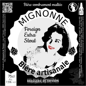 FOREIGN EXTRA STOUT, biere trevarn