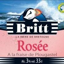 biere Britt Rosée