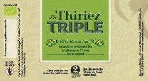 biere La Thiriez Triple