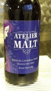 bouteille brasserie l'Atelier Du Malt