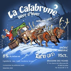 biere Calabrune brasserie des vignes