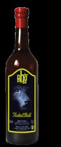 Teckel Bull biere haut buech