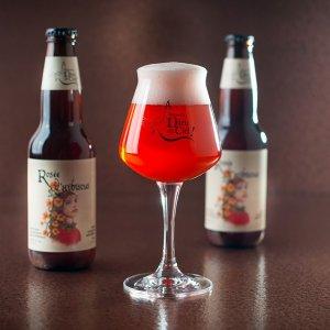 biere Rosée d'hibiscus dieu du ciel