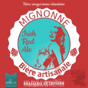 MIGNONNE IRISH RED ALE, biere de trevarn