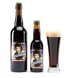 biere dame de malt impérial stout , brune
