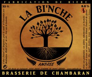 biere La BI'NCHE ambrée