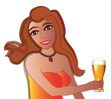 biere Florencia ambrée belle de trébas