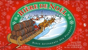 Bière de Noël thiriez